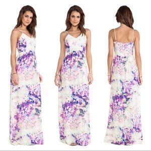 Parker Niko silk maxi dress